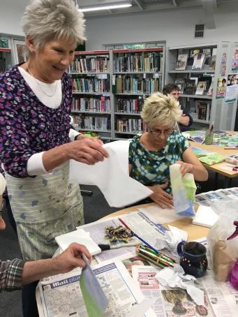 Paint Meets Thread Workshop